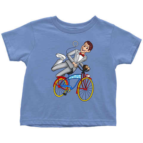 WOODY'S BIG ADVENTURE: Woody as Pee-Wee Herman Toddler T-Shirt
