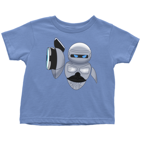 EVACOP: Eva from WALL-E as RoboCop Toddler T-Shirt