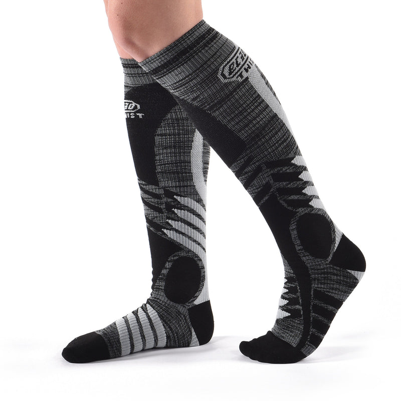 Long Twist Compression Socks