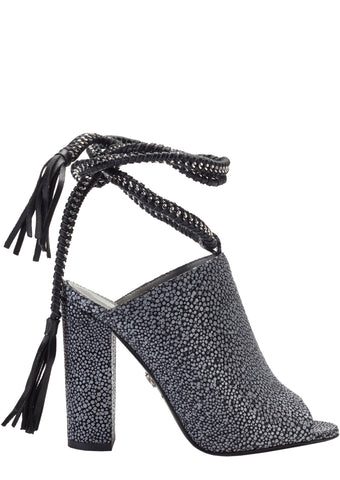 DANIA CHARCOAL STINGRAY SANDAL