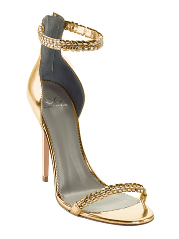 GEORGIA GOLD CALF SANDAL - Monika Chiang