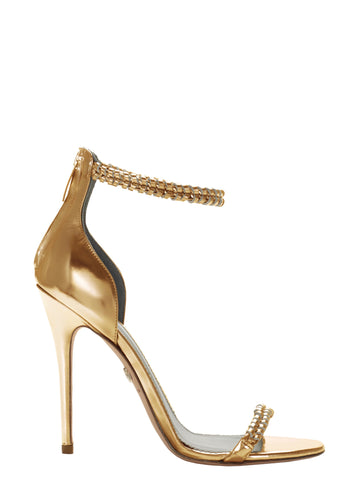 GEORGIA GOLD CALF SANDAL