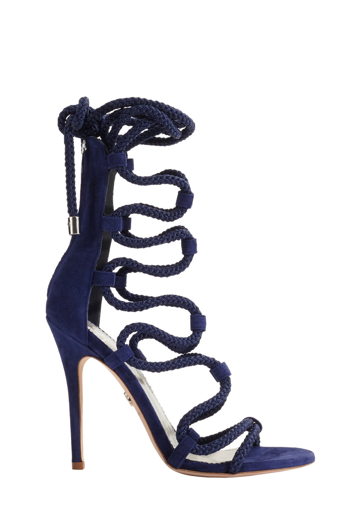 GIADA ROYAL BLUE SUEDE SANDAL - Monika Chiang
