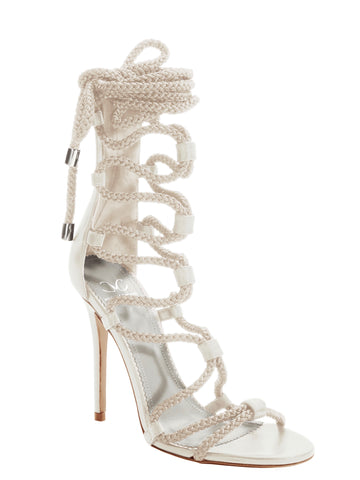 GIADA CLOUD WHITE CALF SANDAL