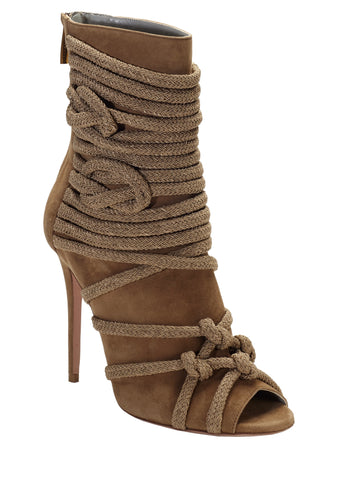 TALITA CHESTNUT SUEDE ANKLE BOOT