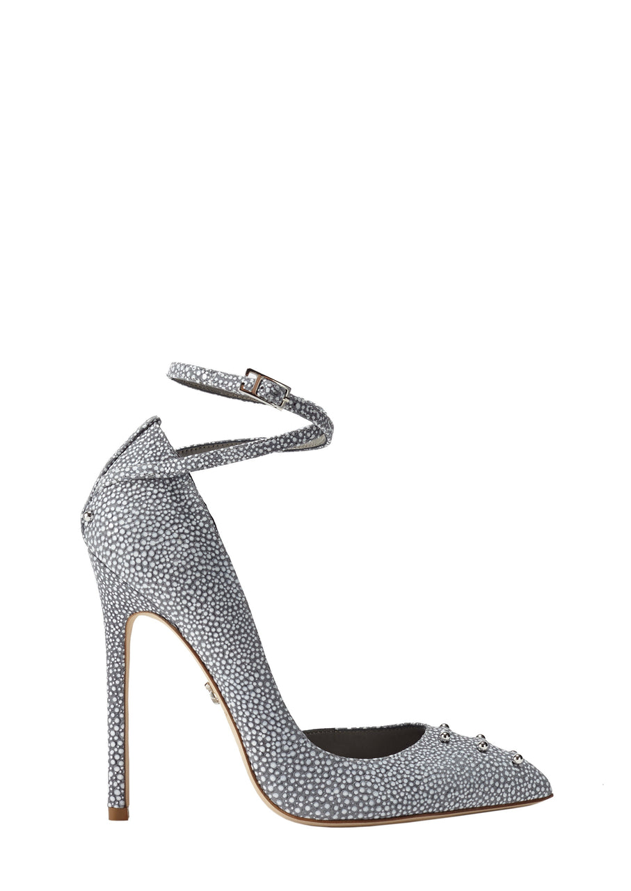STASIA CLOUD EMBOSSED LEATHER PUMP - Monika Chiang