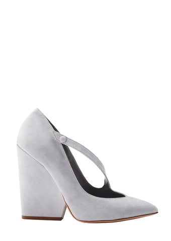 PALOMA GRAY SUEDE PUMP