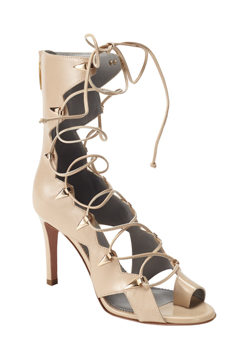 VESTA CREAM CALF SANDAL