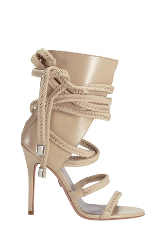 COSIMA SAND BRUSHED CALF SANDAL