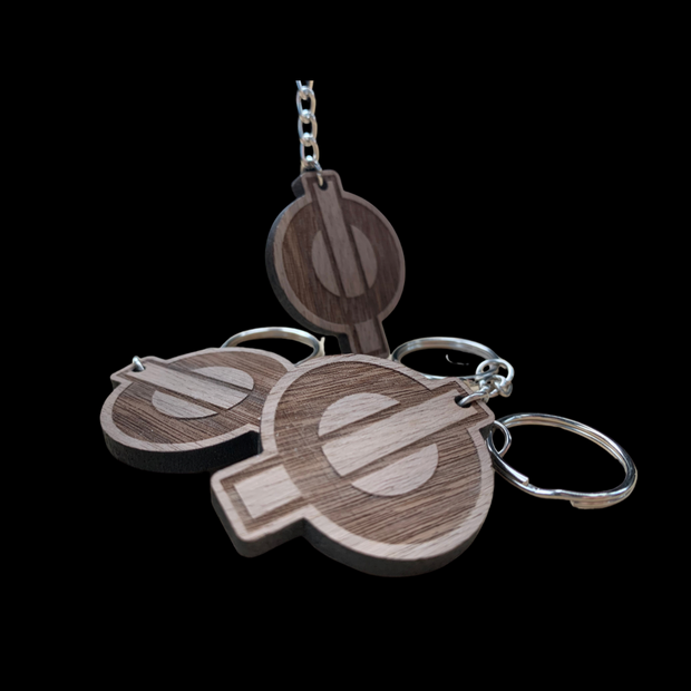 Wooden Fusion Keychain