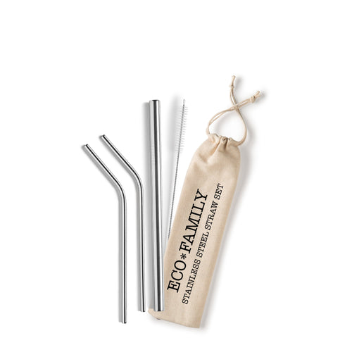 Eco Family Straw Set