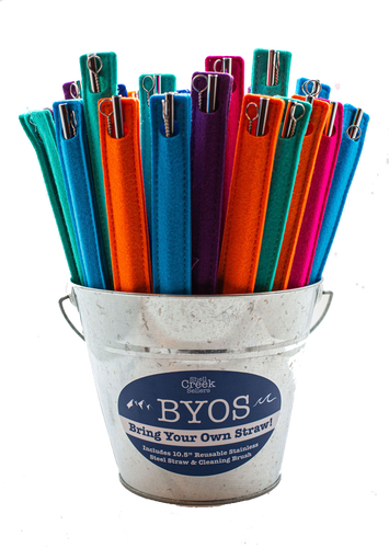 BYOS 60 Piece Bring Your Own Straw Starter Set/Wholesale Only