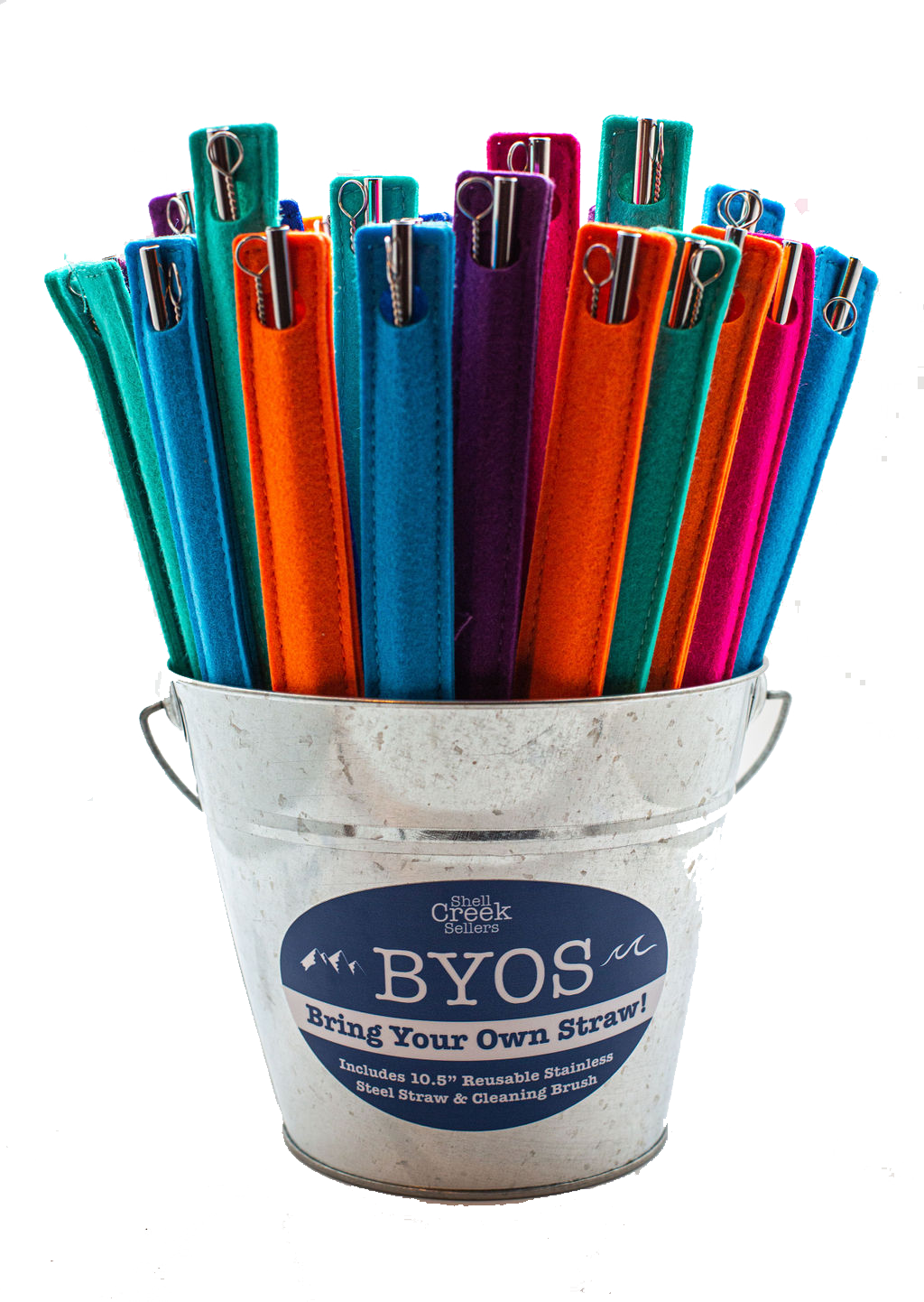 BYOS Bring Your Own Straw Starter Set/Wholesale Only