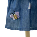 Load image into Gallery viewer, Bumble Bee Denim Tunic + Leggings Set