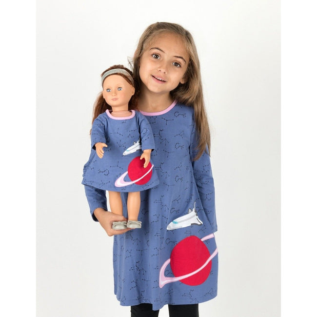 *Pre-Order* Matching Girl & Doll Space Dress