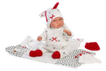 "Load image into Gallery viewer, PRE-ORDER: Luke 16.5"" Soft Body Crying Baby Doll With Baby Changer"