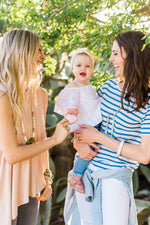 Load image into Gallery viewer, The Avery- Blush Silicone Teething Bracelet