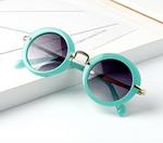 Load image into Gallery viewer, Vintage Round Sunnies in Turquoise