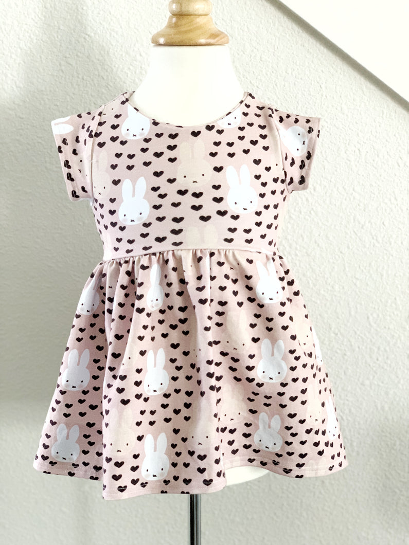 Peplum Top - Blushing Bunny