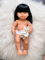 "Load image into Gallery viewer, Ellie Miniland 15"" Asian Girl Doll"