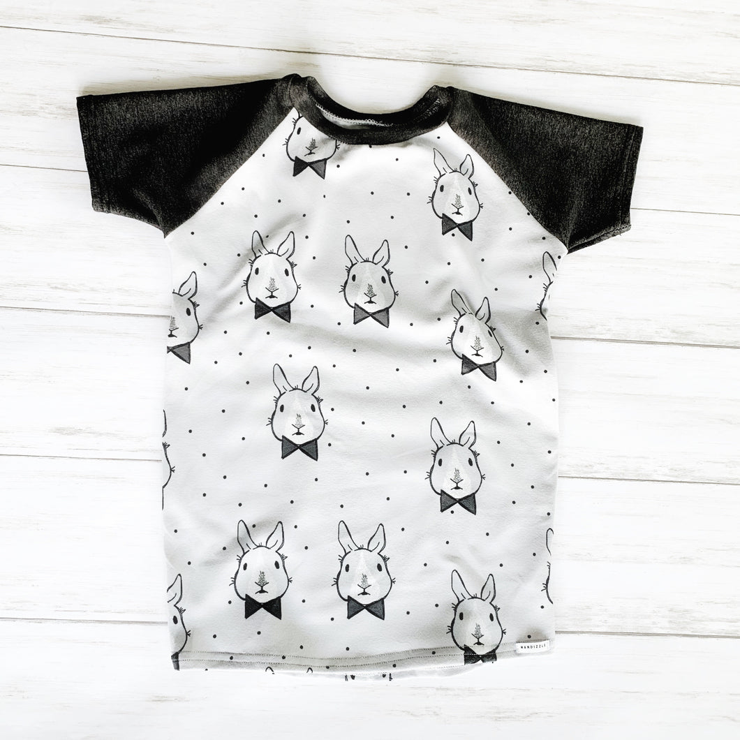 Raglan Top - Dapper Rabbits