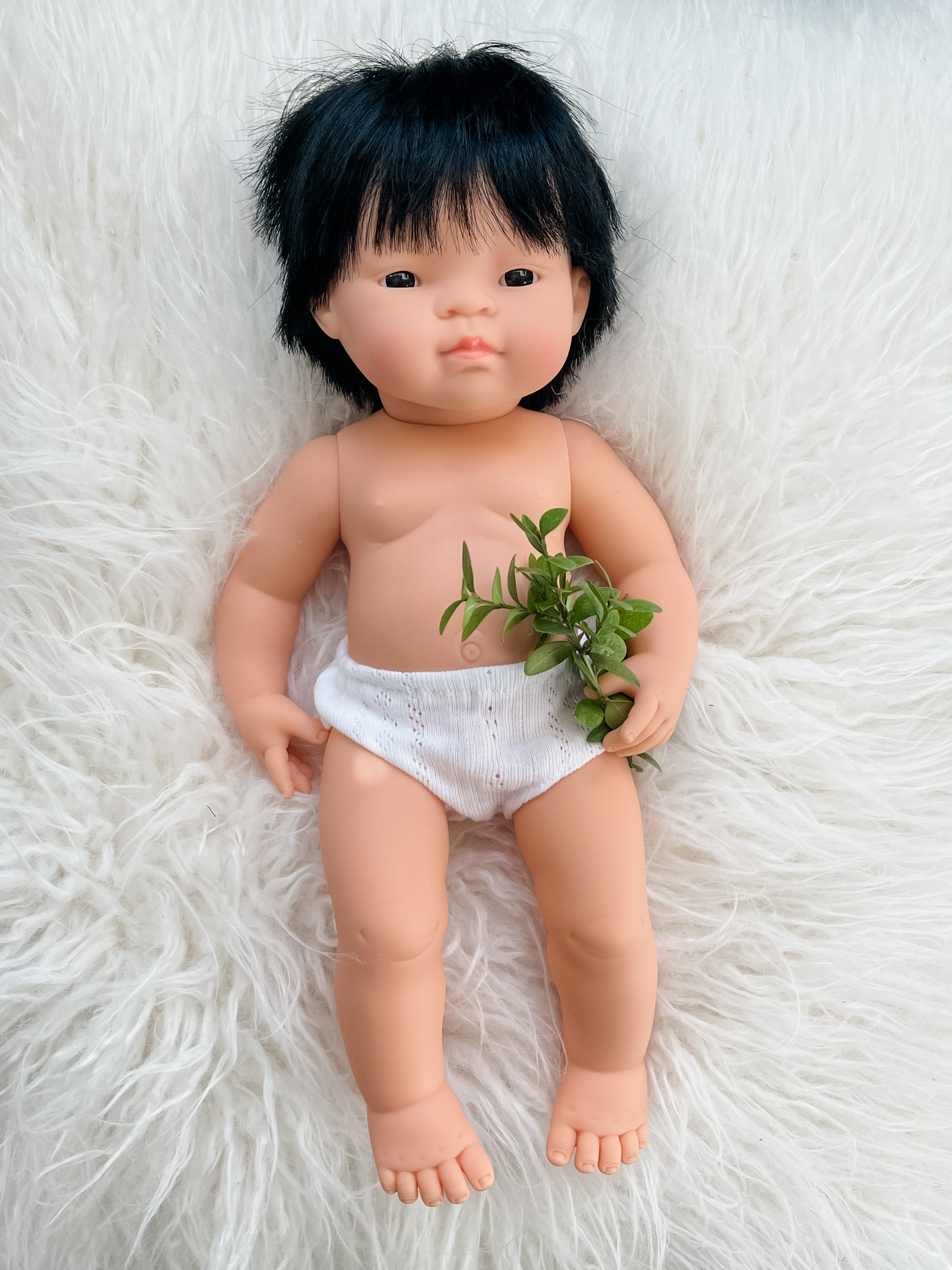 "Andrew Miniland 15"" Asian Boy Doll"