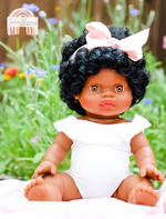 Load image into Gallery viewer, *IN STOCK* Minikane Jahia Baby Girl Doll-Doll-Minikane-Jolee James