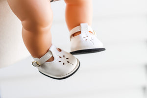 *Pre-Order* Doll Shoes in Cream