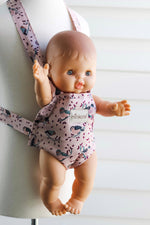 Load image into Gallery viewer, Minikane Doll Carrier in Pink Birdies