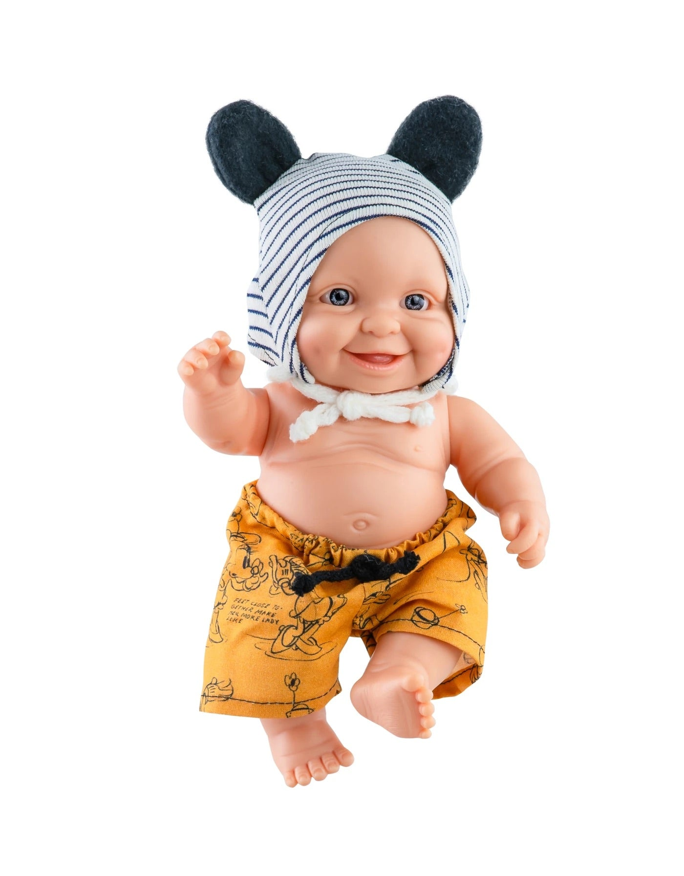 Paola Reina Greg with Outfit Newborn Peques Baby Boy Doll
