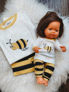 Matching Girl & Doll Cotton Bee Pajamas