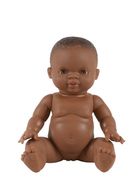 *PRE-ORDER* Minikane Naya Black Baby Girl Brown Eyes Doll-Doll-Minikane-Jolee James