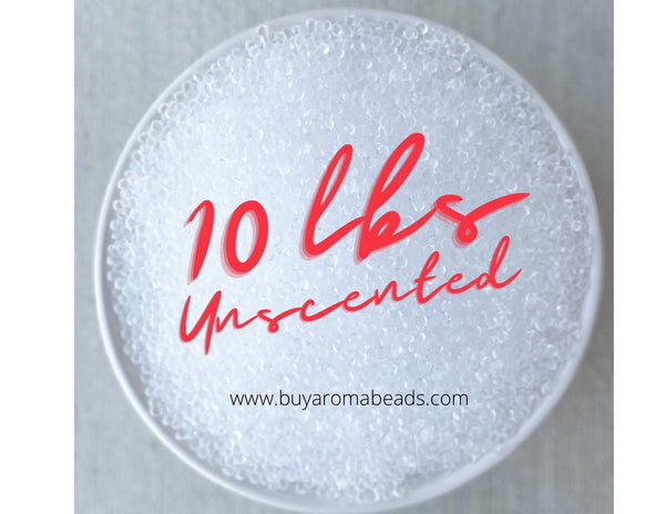 10 lb. Unscented Aroma Beads