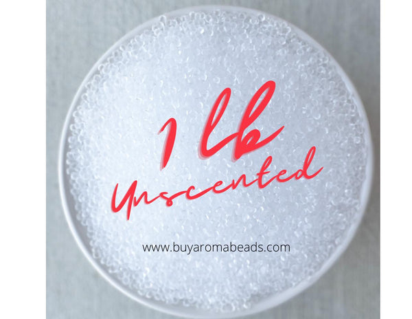 1 lb. Unscented Aroma Beads