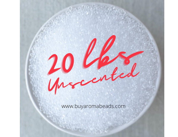 20 lb Unscented Aroma Beads