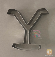"Yellowstone ""Y"" Cookie Cutter"