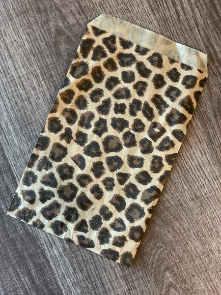 Leopard Jewelry/Product Bags