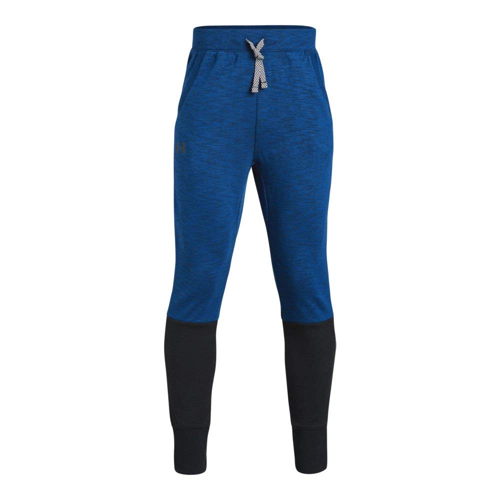 Under Armour Boys Double Knit Tapered Pants