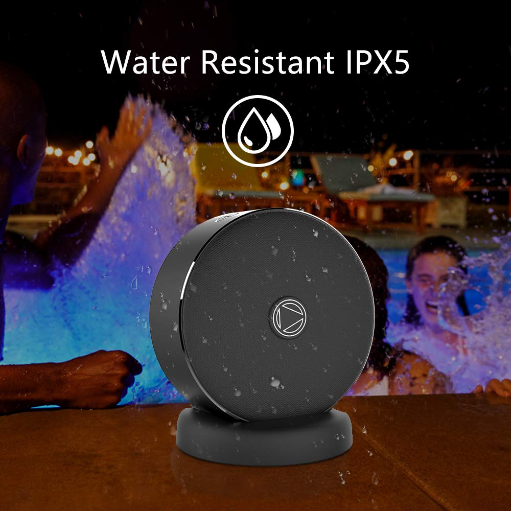 Bluetooth Speakers with Deep Bass,Twin Wireless with Stereo Sound,Dual Portable wireless Speakers for iOS Android Smartphones,TF Card Slot IPX5 Water Resistance Sweat Proof & Rainproof Echo Compatible