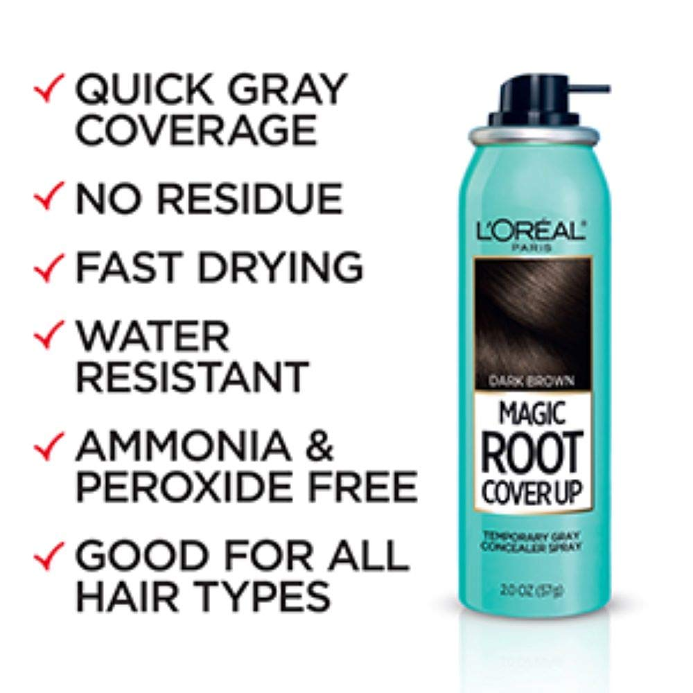 L'Oreal Paris Magic Root Cover Up Gray Concealer Spray