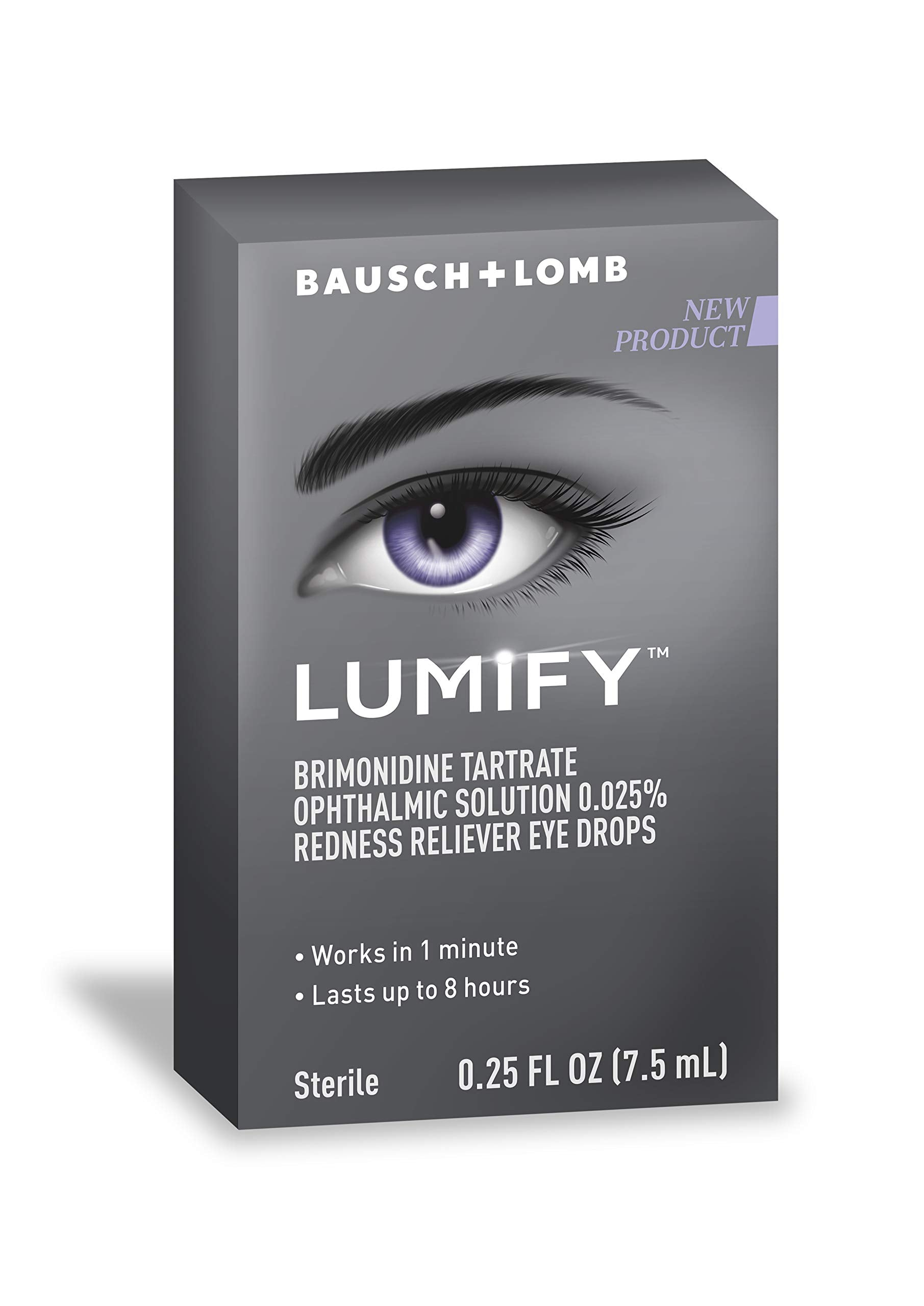 Lumify Redness Reliever Eye Drops 0.25 Ounce (7.5mL)