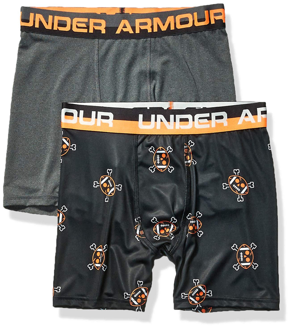 Under Armour Boys' Big 2 Pack Performance Boxer Briefs