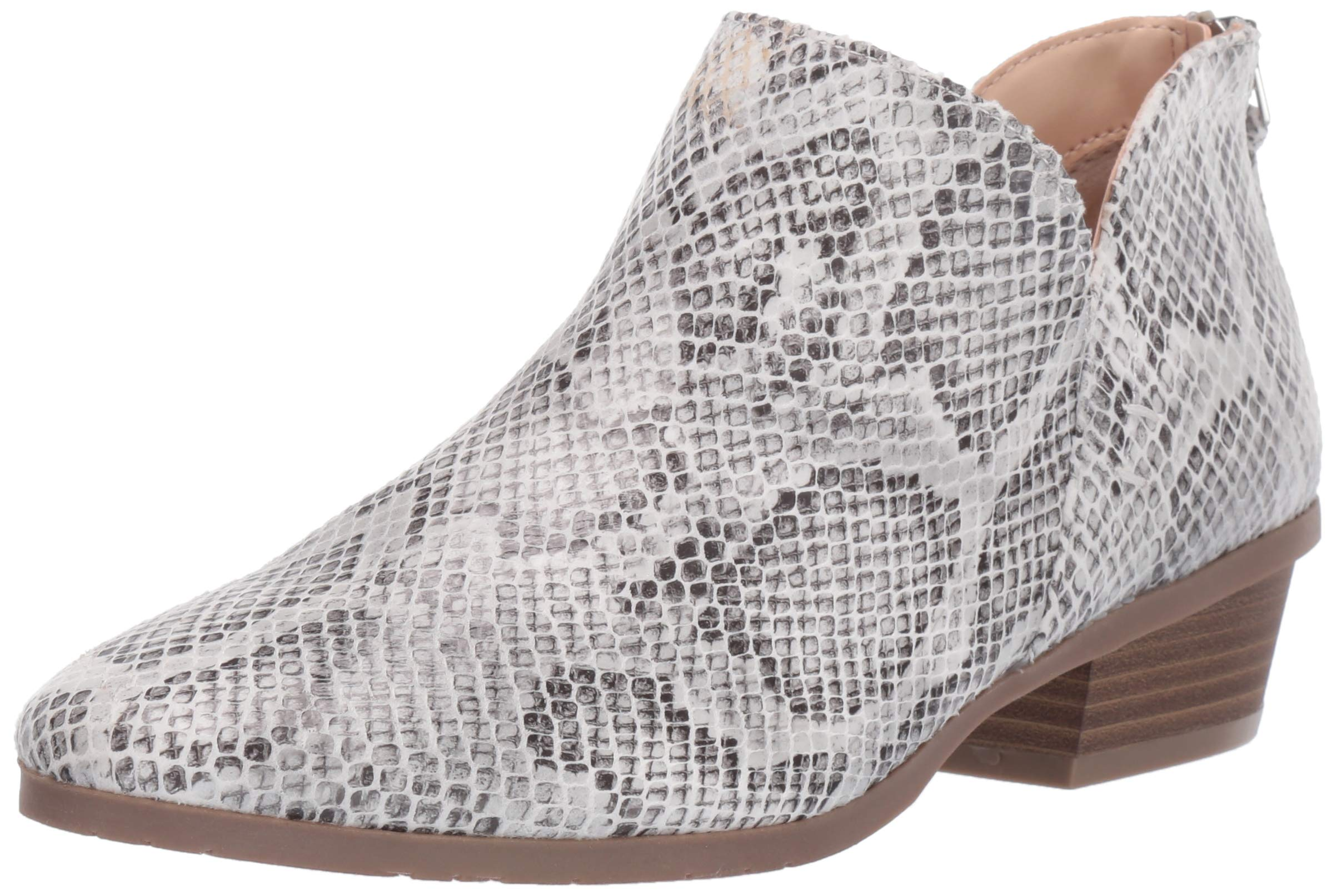 Kenneth Cole REACTION Women's Side Way Ankle Bootie Boot, Natural