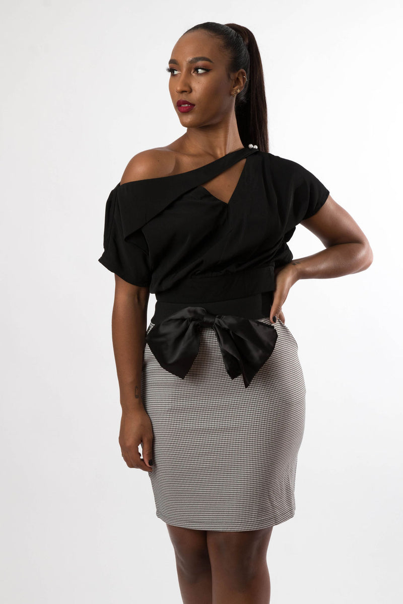 Which Direction Two Piece Skirt Set