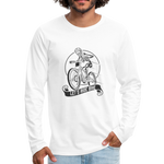 Let's Ride Bikes Premium Long Sleeve - white