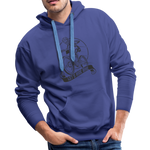 Lets Ride Bike Men's Premium Hoodie - royalblue