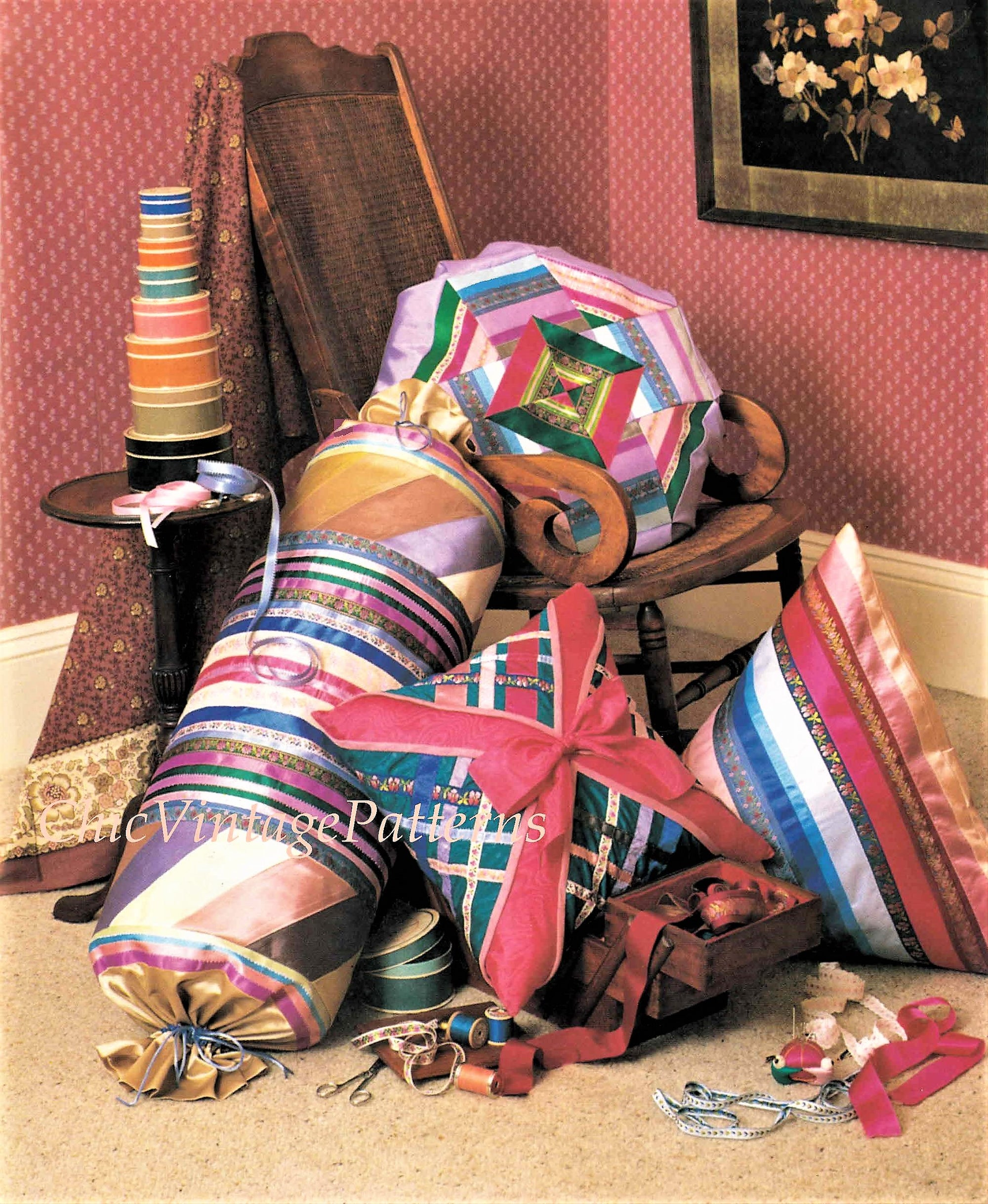 Cushions, Furniture, Lightshades, Wall Art and Curtain Patterns
