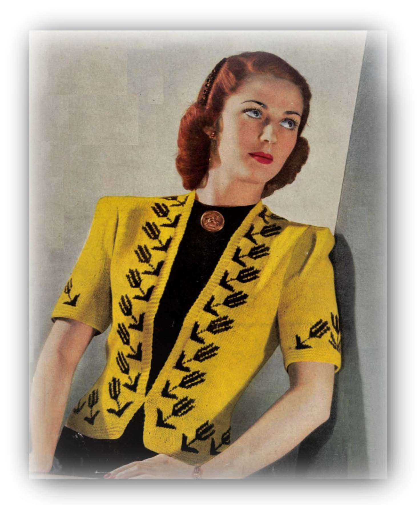 Join us in our love of patterns.  We have have patterns from the Victorian era through to the retro 70's. Knitting, crochet, macrame, wood work, plus vintage pattern books and magazines. All items are instant download digital patterns.