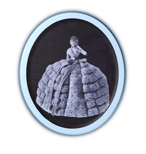 Crinoline Lady Tea Cosy Knitting Pattern, Instant Download