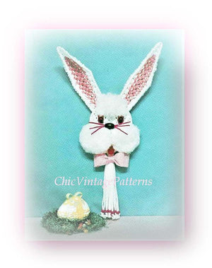 Macrame Easter Bunny Pattern, Macrame Wall Hanging, Home Decor, Digital Download